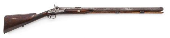 Early Large Bore English Perc. Sporting Rifle