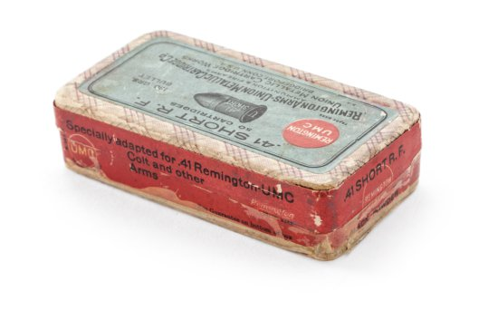 Sealed Box of .41 Short RF Cartridges, by Rem.-UMC