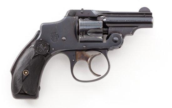 Rare S&W 3rd Model Safety Hammerless DA Revolver