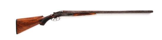 Early LeFever H Grade Sideplate Model SxS Shotgun