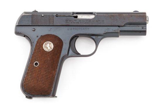U.S. Prop. mkd Colt Model 1903 Hammerless Pistol