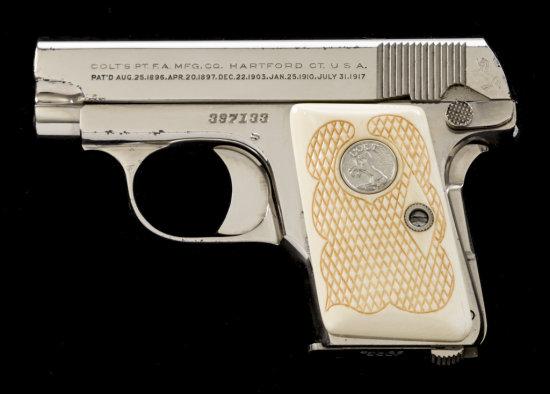 Colt Model 1908 Vest Pocket Semi-Auto Pistol