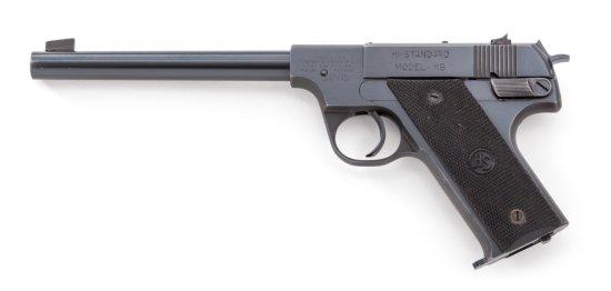 Hi-Standard Model HB Semi-Automatic Pistol