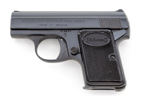 Early Belgian Baby Browning Semi-Automatic Pistol