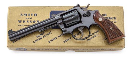 S&W K-38 Target Masterpiece DA Revolver