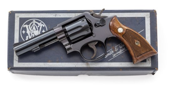 S&W Model 10-3 M&P Double Action Revolver