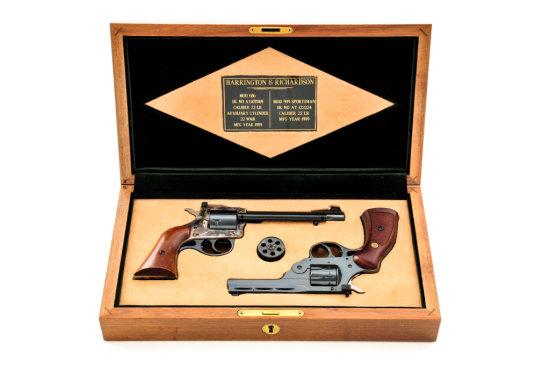 2-Gun Set of H&R Double Action Revolvers