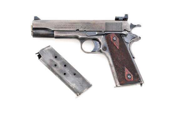 Colt Target Modified Model 1911 Semi-Auto Pistol