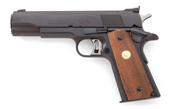 Colt MK IV Ser. 80 Gold Cup Nat'l Match SA Pistol
