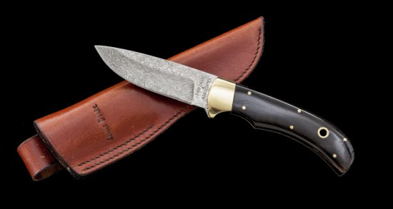 Lewis Drake & Assoc. Fixed Blade Knife