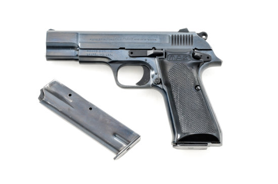 French MAB Model P-15 Semi-Automatic Pistol