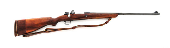Sporterized Model 1924 Serbian Mauser BA Rifle