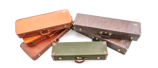 Lot of 6 Browning Luggage Cases