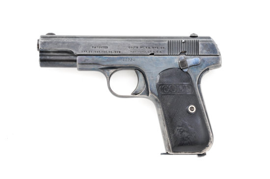 Colt M.1903 Type III Pkt Hammerless SA Pistol