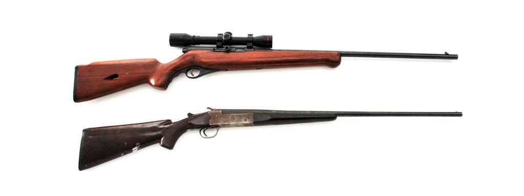 Lot of 2 Long Guns by Mossberg/Stevens