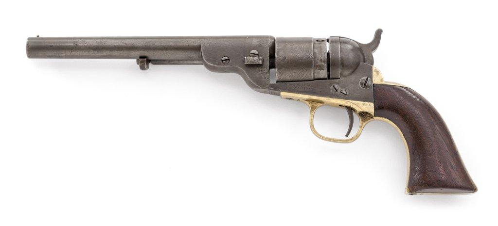 Colt Round Barrel Pocket Navy RF Revolver