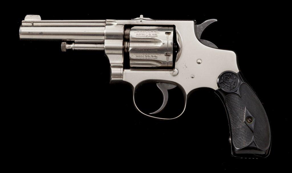 S&W 1st Model Hand Ejector DA Revolver