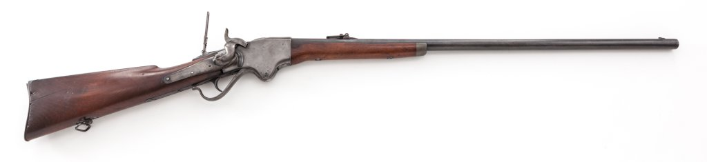 Rare Long-Barreled Spencer Sporting Rifle