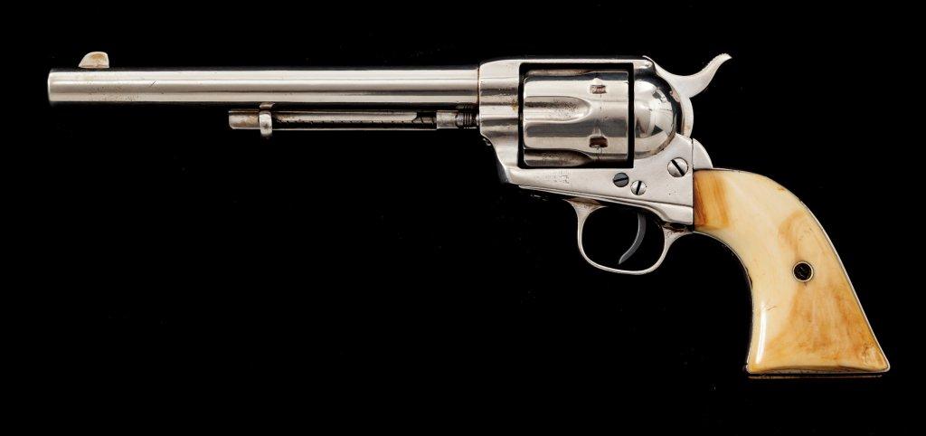 Antique Colt Single Action Army Revolver