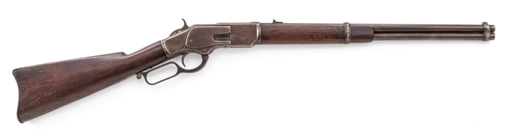 1st Model Winchester 1873 Saddle Ring Carbine