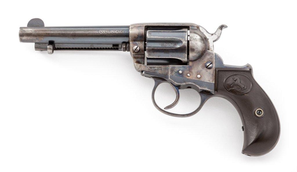 Colt Thunderer Double Action Revolver