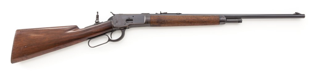 Takedown Winchester Model 53 Lever Action Rifle