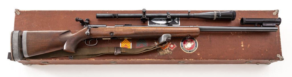 Winchester Model 52 Bolt Action Target Rifle