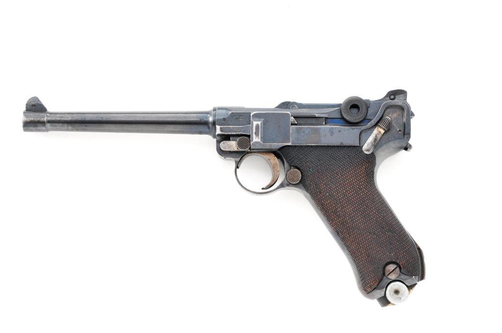 Model 1908 Navy Luger, by DWM