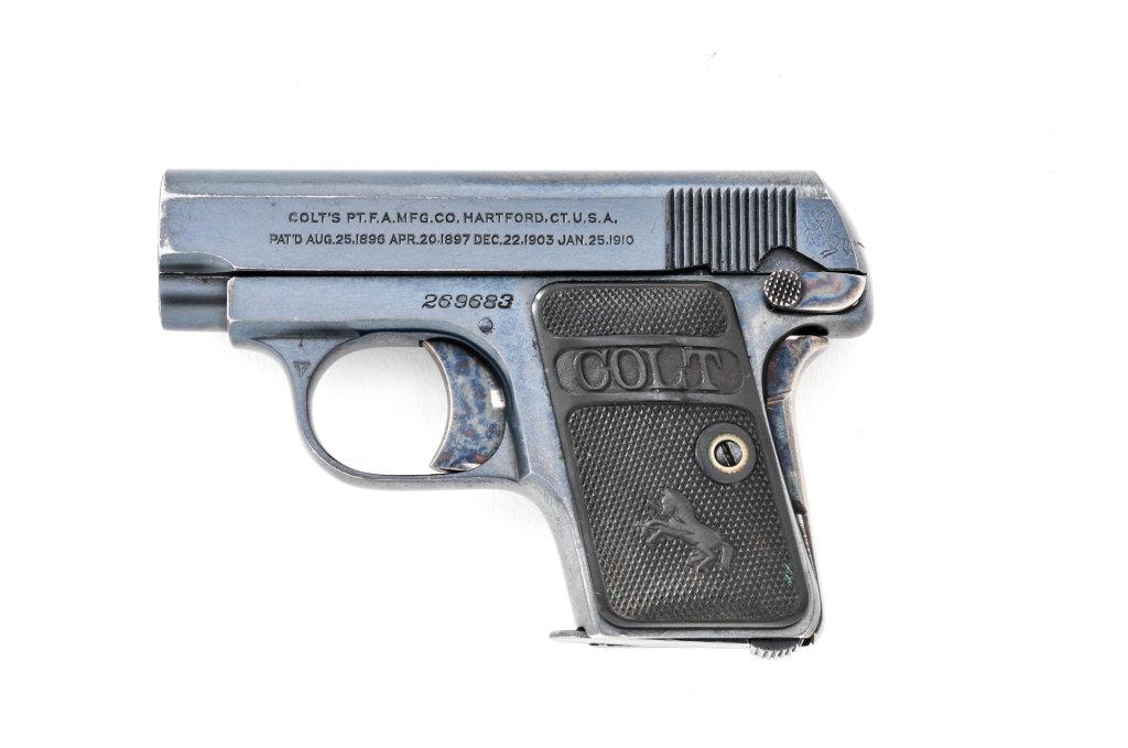 Colt Model 1908 Vest Pocket SA Pistol