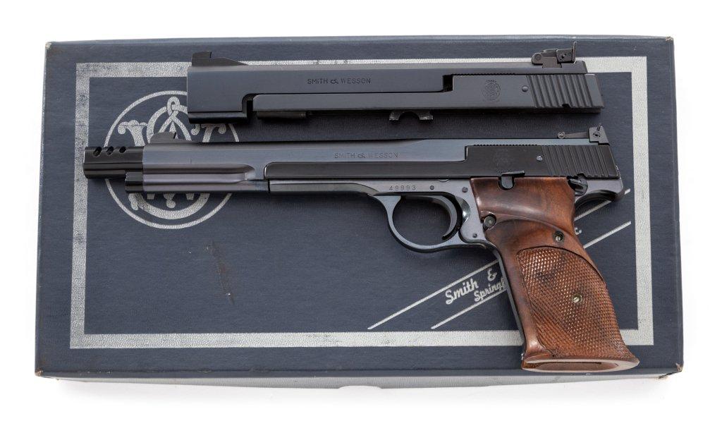 S&W Model 41 Semi-Auto Target Pistol
