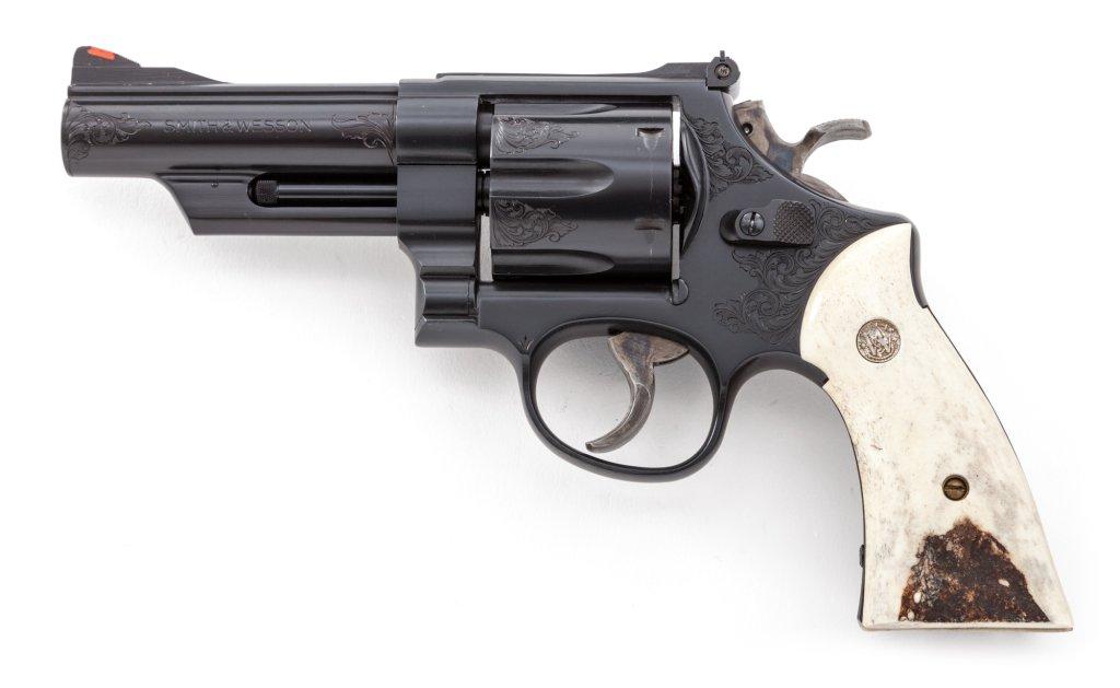 Eng'd S&W Model 25-5 DA Revolver