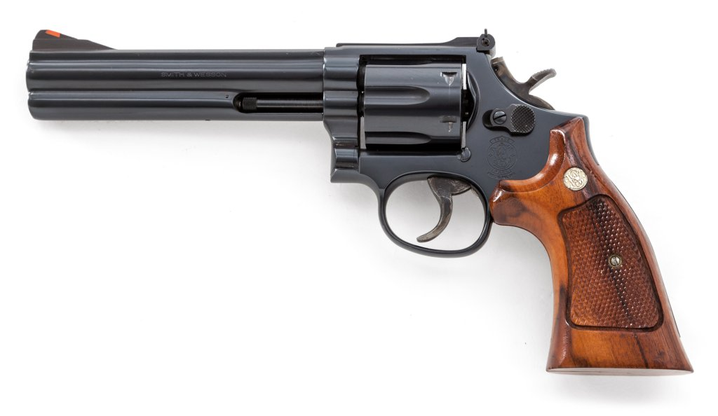 S&W Model 586 Disting'd Combat Mag DA Revolver