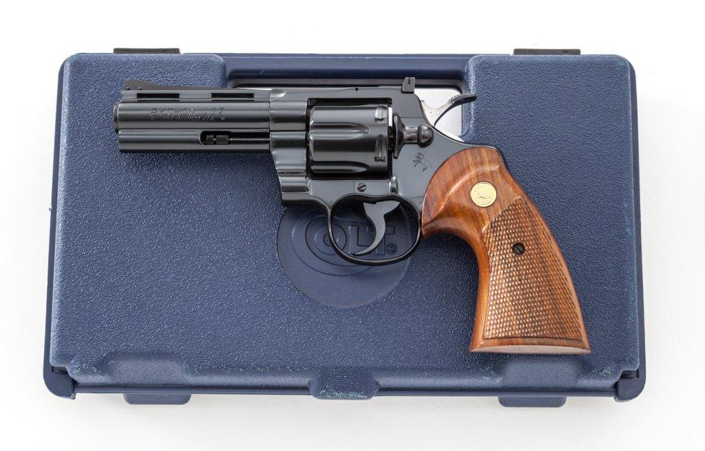 Fantastic Colt Python Double Action Revolver