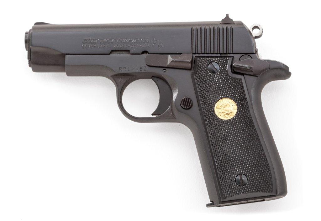 Colt MK IV Series 80 Gov't Model SA Pistol