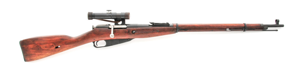 Soviet Model 91/30 Bolt Action Rifle, w/PU scope