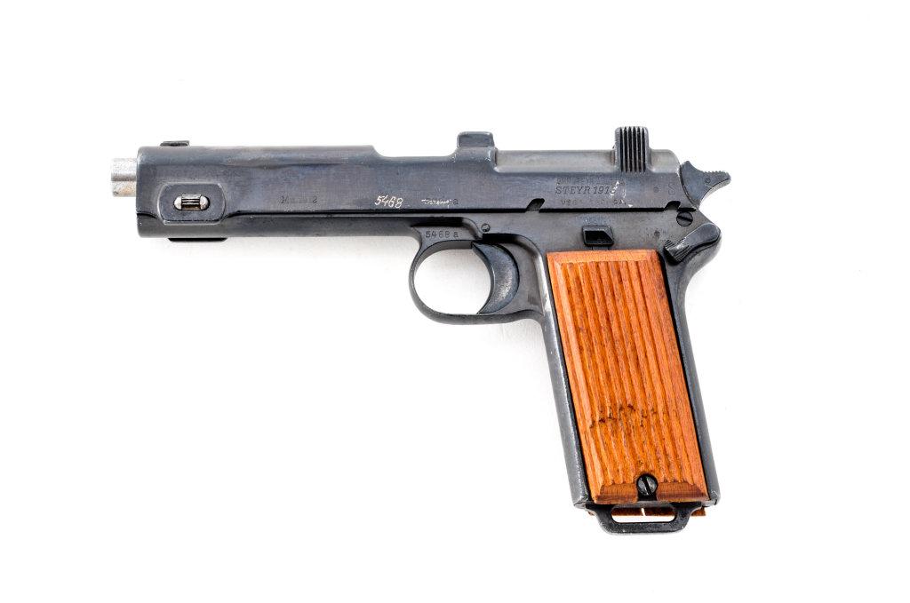 Steyr-Hahn Model 1912 Semi-Automatic Pistol