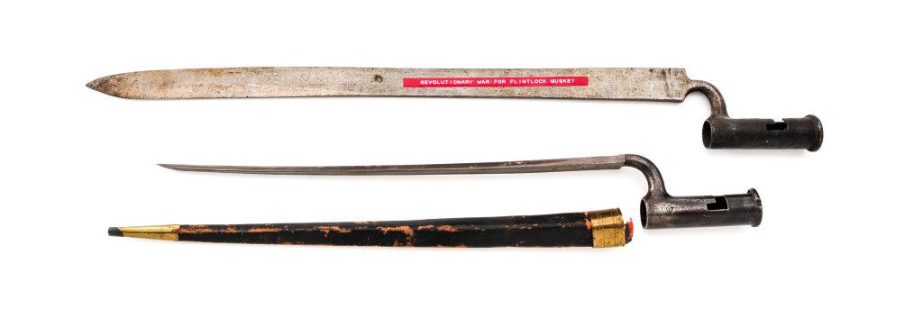 Lot of 2 Antique Bayonets