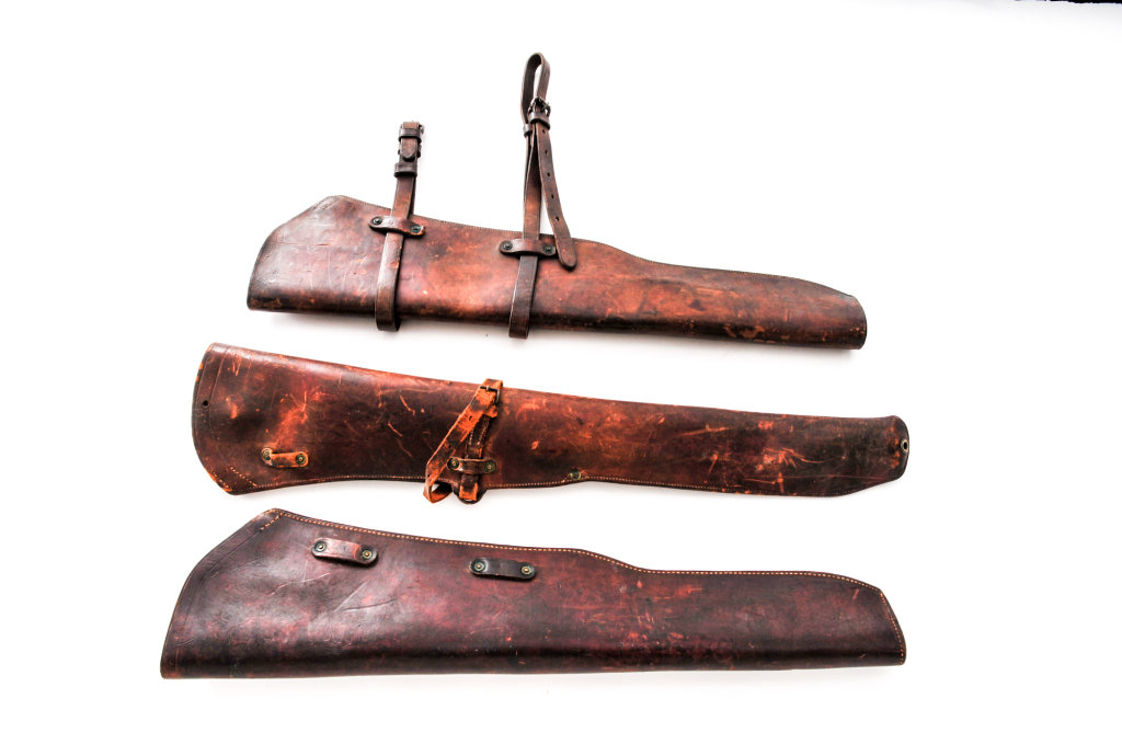 Lot of Three (3) U.S Military Rifle Scabbards