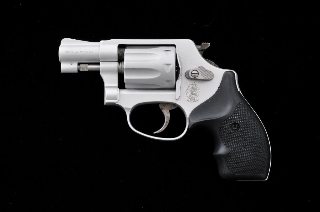 S&W Model 317 Airlite DA Revolver