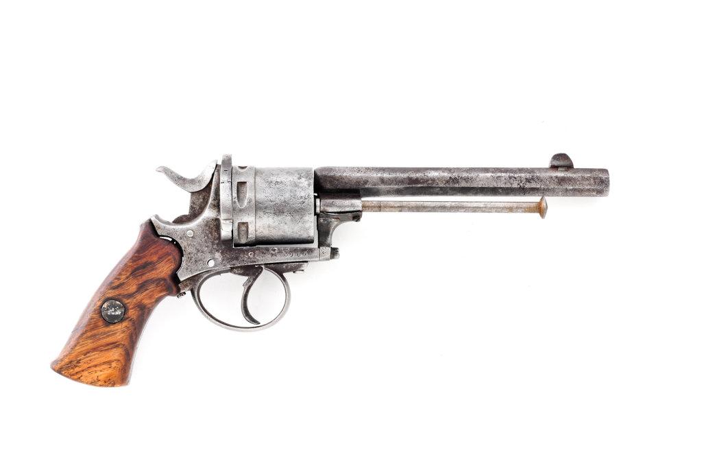 Belgian Double Action Revolver
