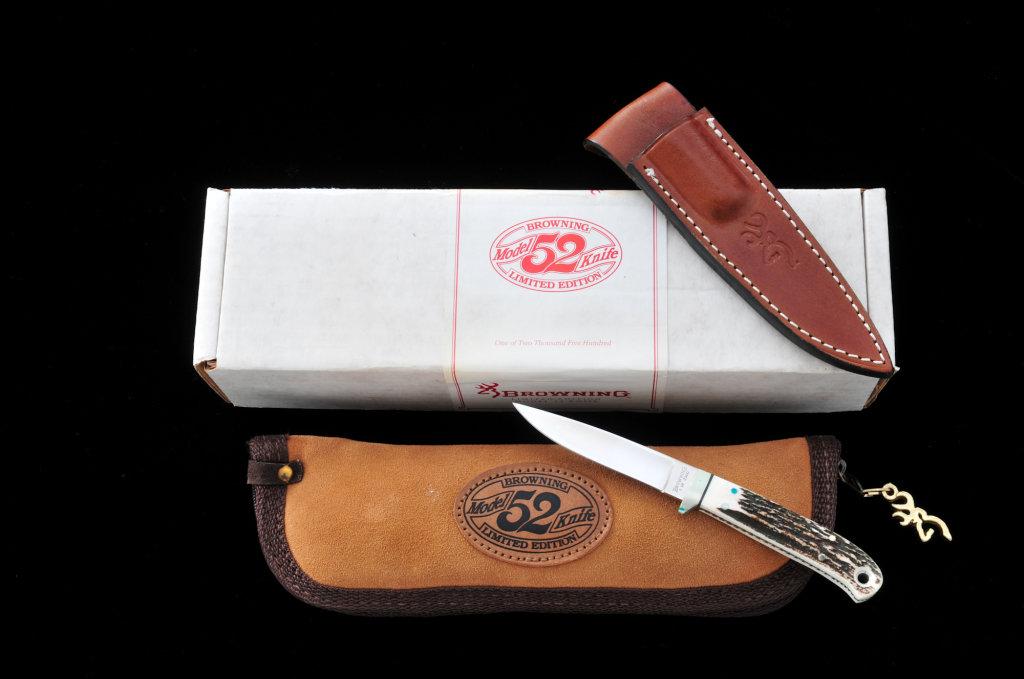 Ltd. Ed. Browning Model 52 Fixed Blade Knife