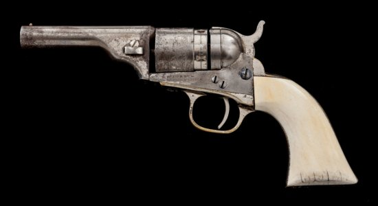 Colt 4th Type New Model Pocket Breechloader Revolver