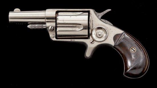 Colt New Line Large Frame Etched Panel Revolver