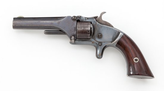 S&W Model 1 2nd Issue Spur Trigger Revolver