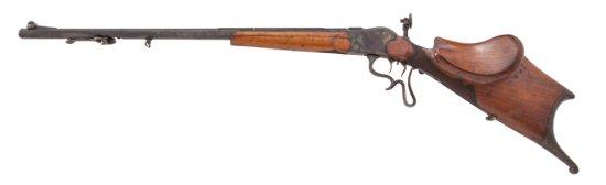 Swiss or So. German Zimmerschuetzen Target Rifle