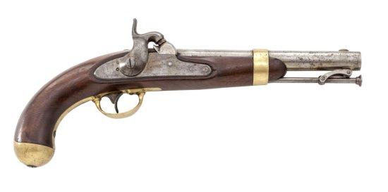 U.S. Model 1842 Percussion Pistol, by Henry Aston