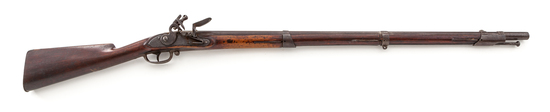 Late 18th C. American Flintlock Militia Musket, by Cogswell