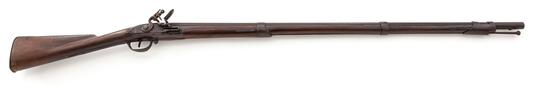 1814 U.S. Contract Flintlock Musket, by D. Dana