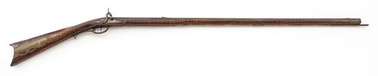 Fullstocked Percussion Kentucky Rifle