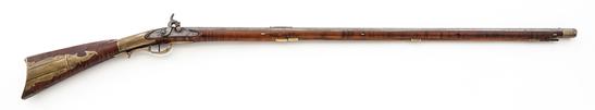 Period Converted Fullstocked Perc. Kentucky Rifle